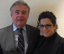 Rainer Schmidt, hier mit Nasife Gauch, hat die Vertriebsleitung bei der NPassion GmbH übernommen