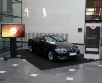 Erstmals auf einer Veranstaltung der Parfümeriebranche zu sehen: Auto mit Parfümeriefinder