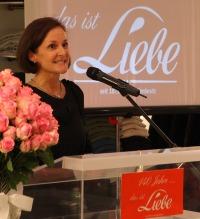 Gratulierte zum Jubiläum: Beate Fastrich, Geschäftsführerin, Estée Lauder Companies GmbH Deutschland