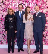 Sigra Gentile Ferragamo - James Ferragamo - VIP guest model and tv talent Sumire - Luciano Bertinelli