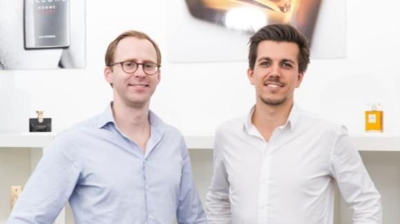 Die Flokoni Gründer: Paul Schwarzenholz und Björn Kolbmüller [Bild: Flaconi]