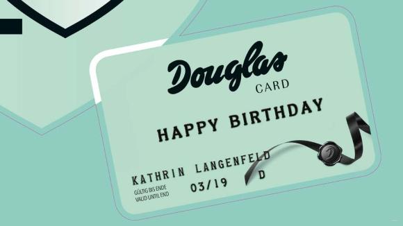 douglas karte Die Douglas Card wird 20   fast 10 Millionen Kunden
