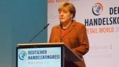 Bundeskanzlerin Angela Merkel beim Handelskongress 2015. Bild: parfuemerienachrichten.de