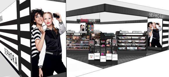 Sephora Er Ffnet Erste Boutique In Der Galeria Kaufhof