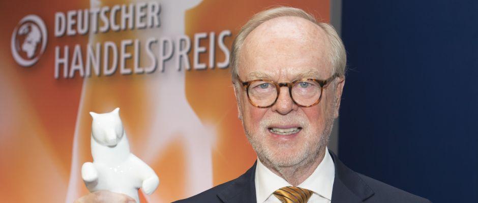 Deutscher Handelspreis - Lifetime Award für Gerd Pieper