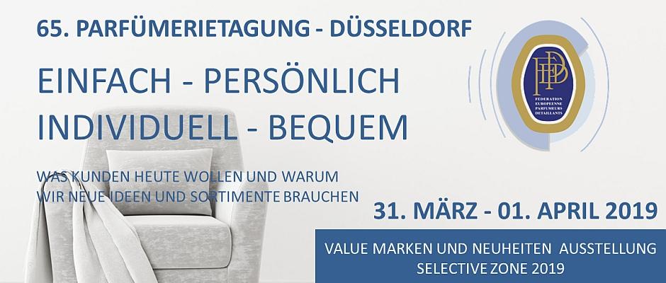 Parfümerietagung 2019 mit Nischen- und Neuheiten-Ausstellung
