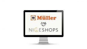 Müller beteiligt sich an Niceshops