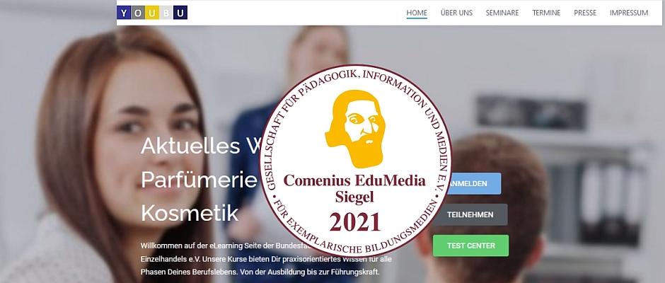youbu.de – Auszeichung für Lernportal der Bundesfachschule des Parfümerie-Einzelhandels